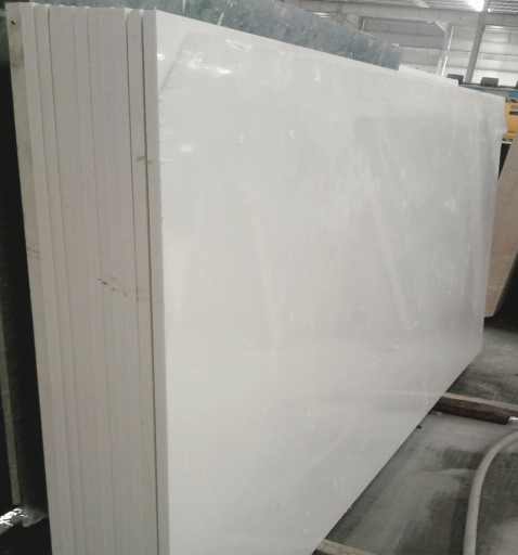 white quartz big slabs